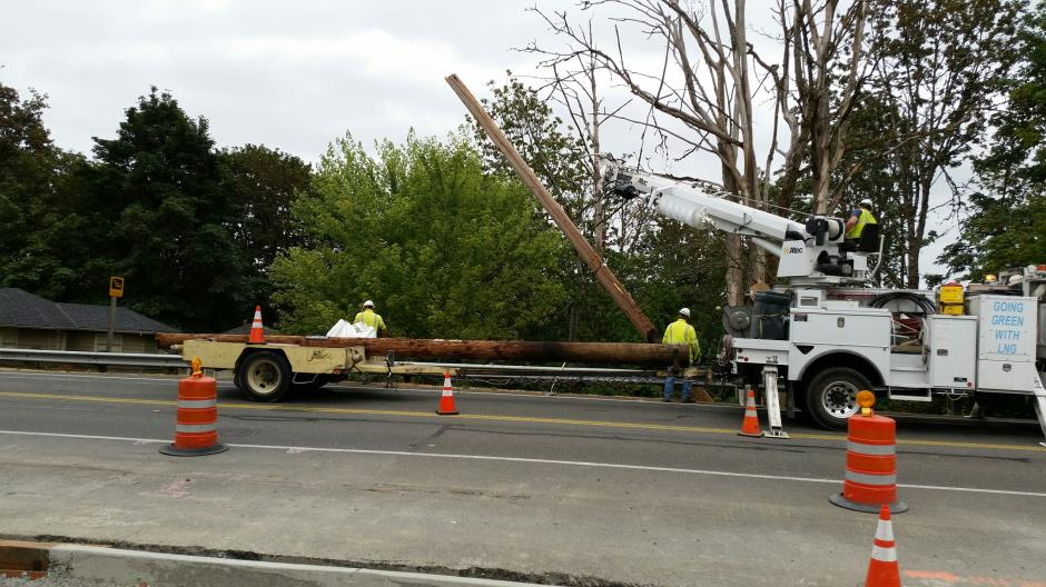 T-28a - Witte Road - Pole Removal 072415