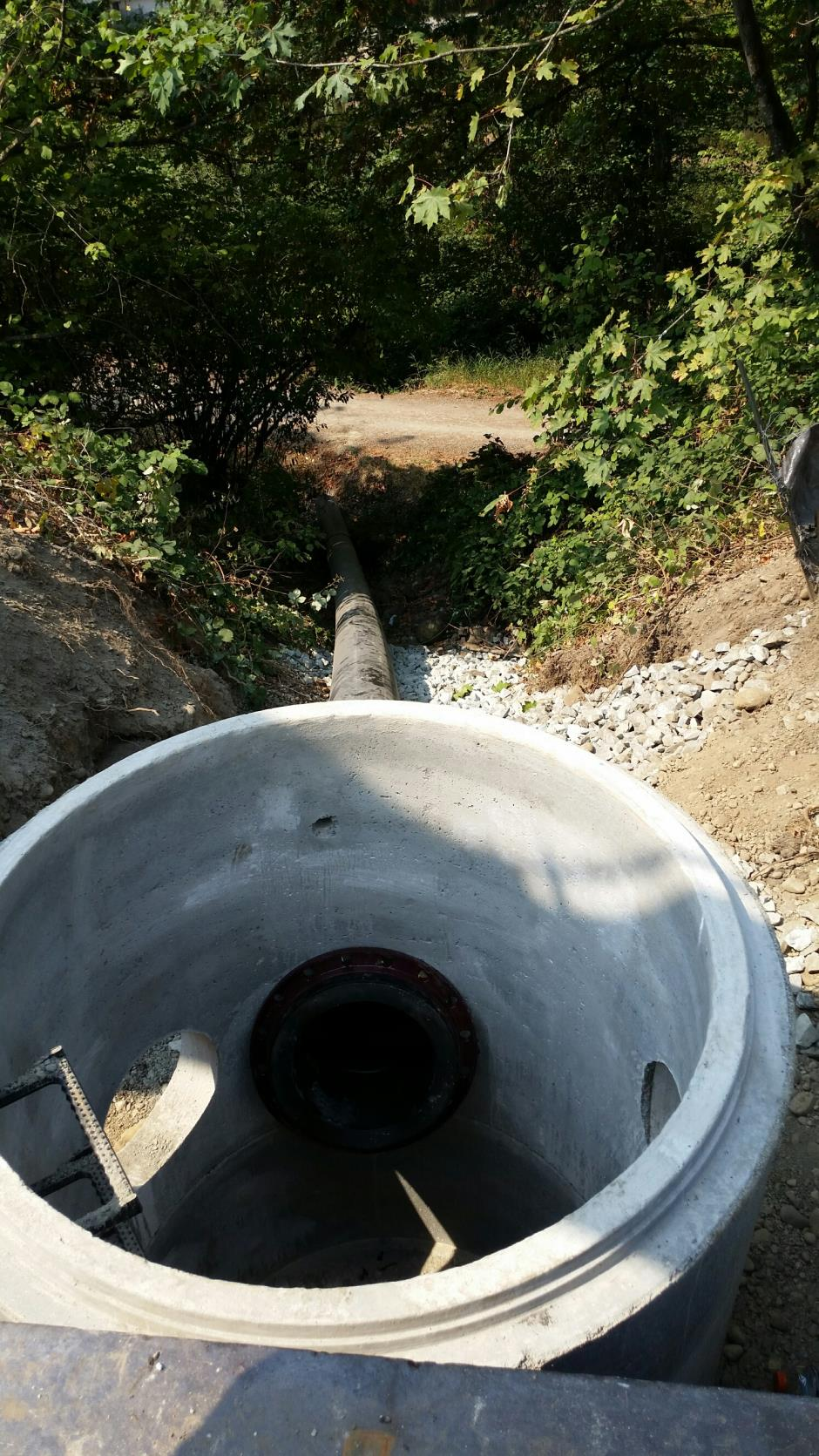 T-28a - Witte Road - SD HDPE Outfall 090915