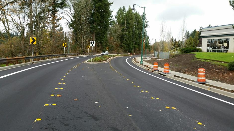 T-28a - Witte Road - Phase 1 Striping (1) - 110915