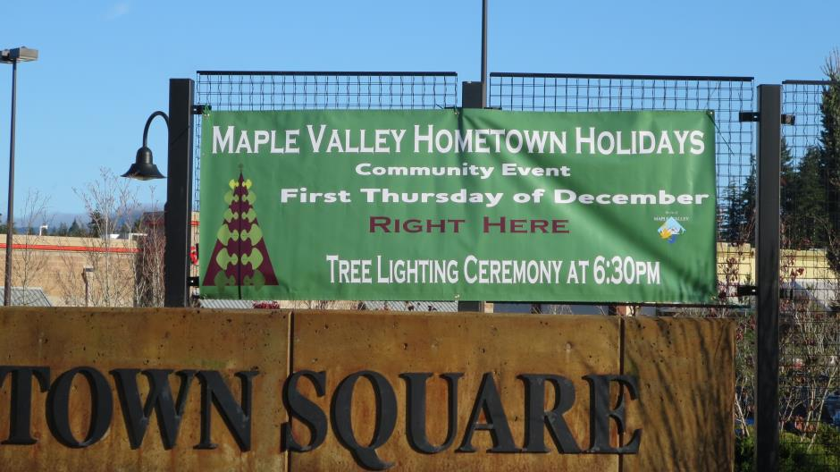Maple Valley Hometown Holidays - You're Invited!