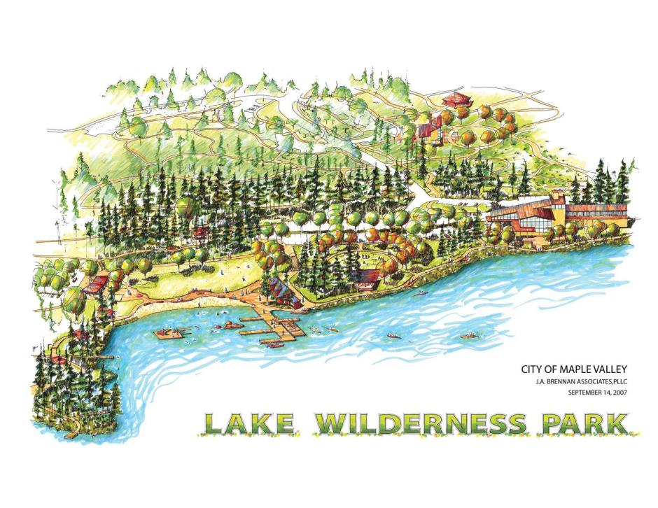 Lake Wilderness Sketch