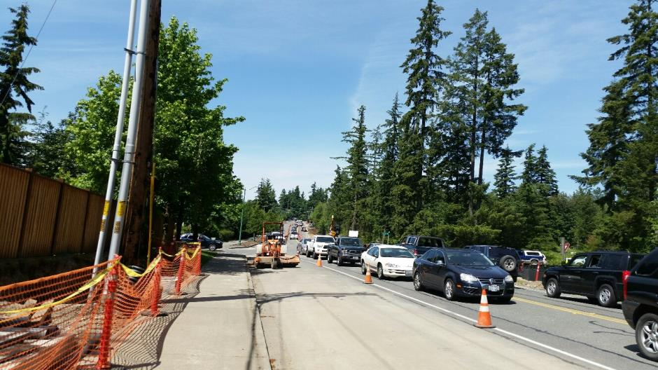 T-38 - 216th Ave SE - Joint Utility Trench Traffic (2) - 053116