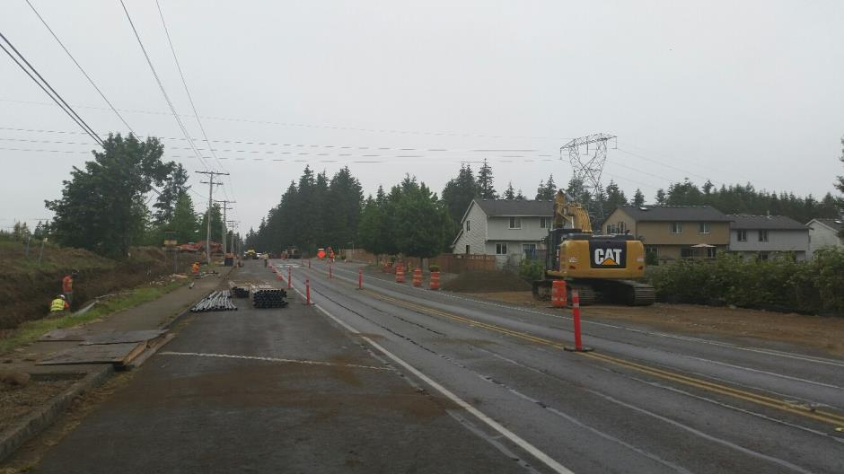 T-38 - 216th Ave SE - Joint Utility Trench South End (1) - 060916