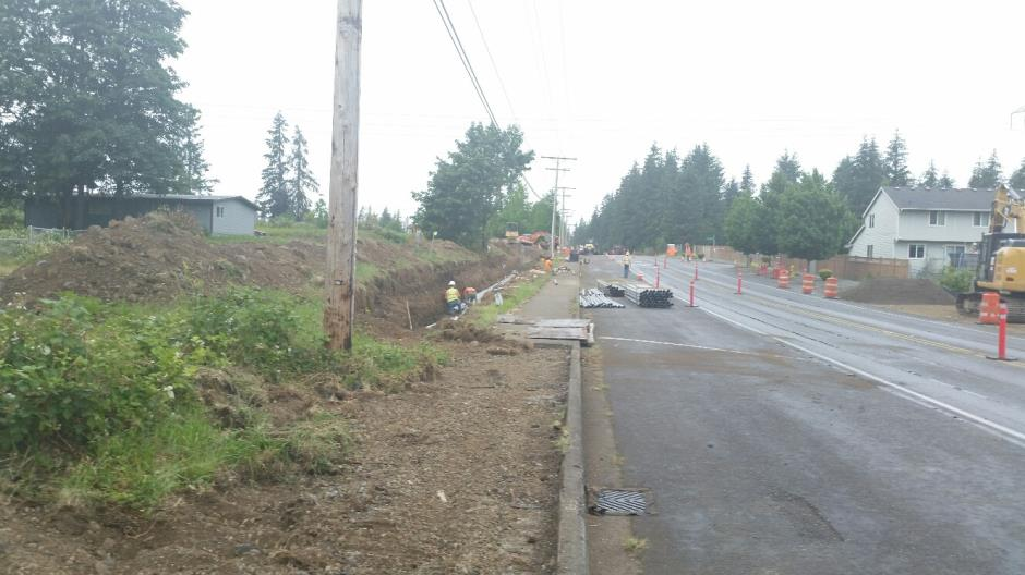 T-38 - 216th Ave SE - Joint Utility Trench South End (2) - 060916