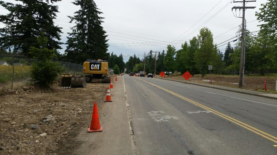 T-38 - 216th Ave SE - Looking South - 061716