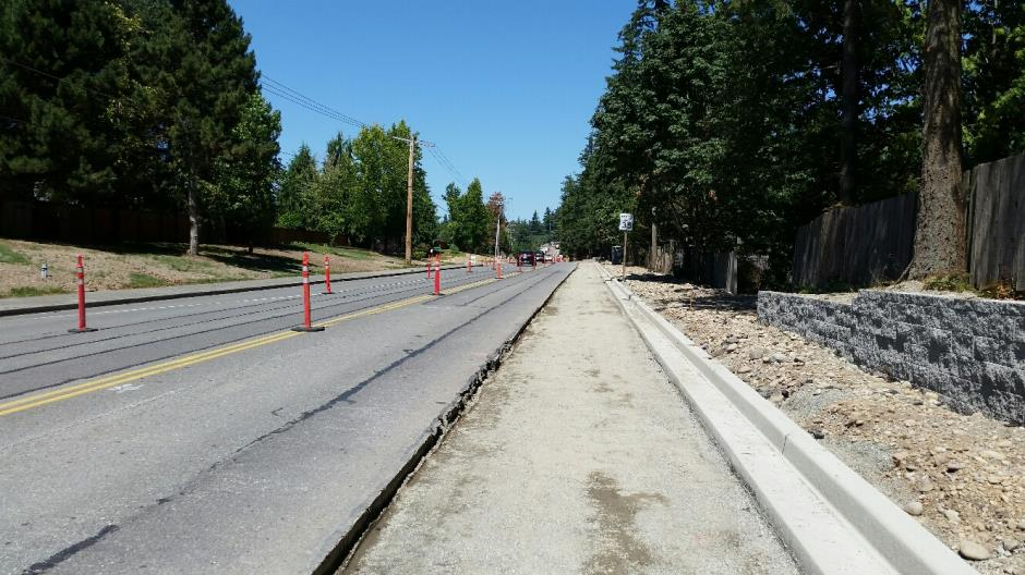 T-38 - 216th Ave SE - Curb Paving Prep - 080416