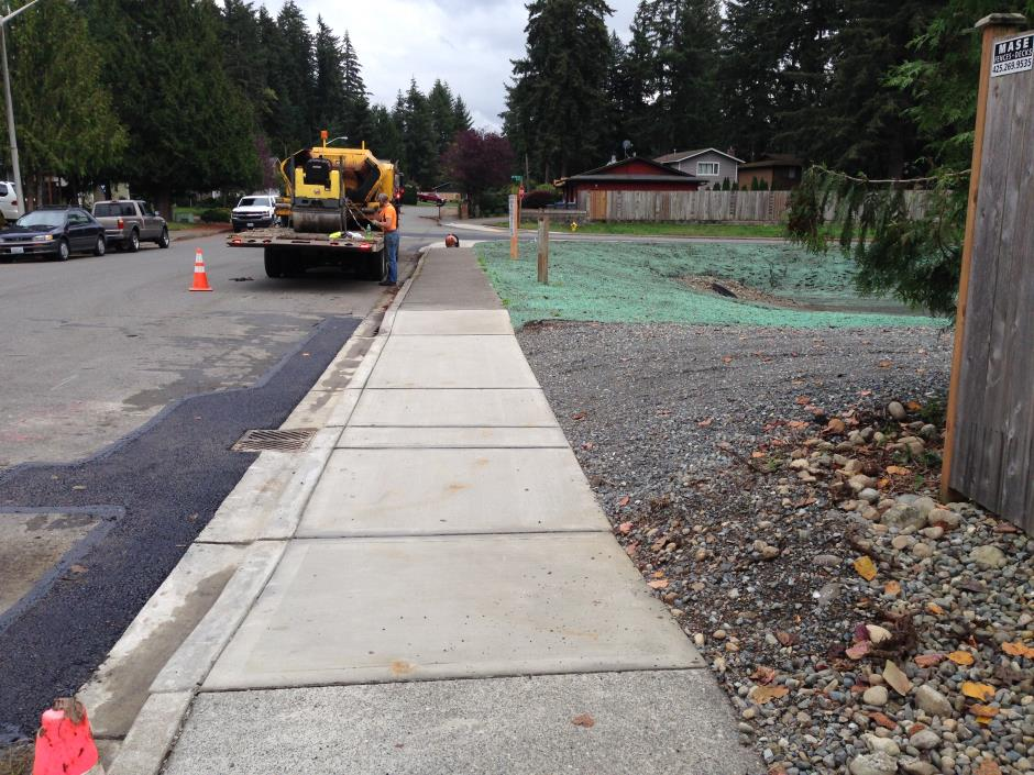 S-12 -- Fernwood - Final New Drive Way
