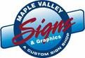 Maple Valley Signs logo