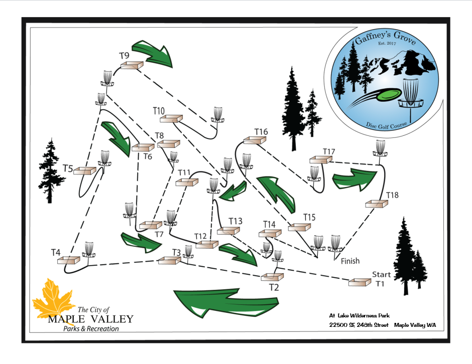 GGDG  Course Map