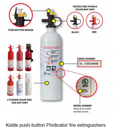 Fire Extinguishers Recall - Picture Only 2 - 110217