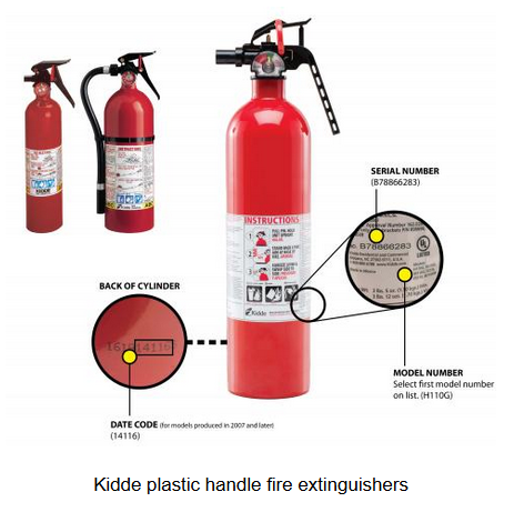 Fire Extinguishers Recall - Picture Only 1 - 110217