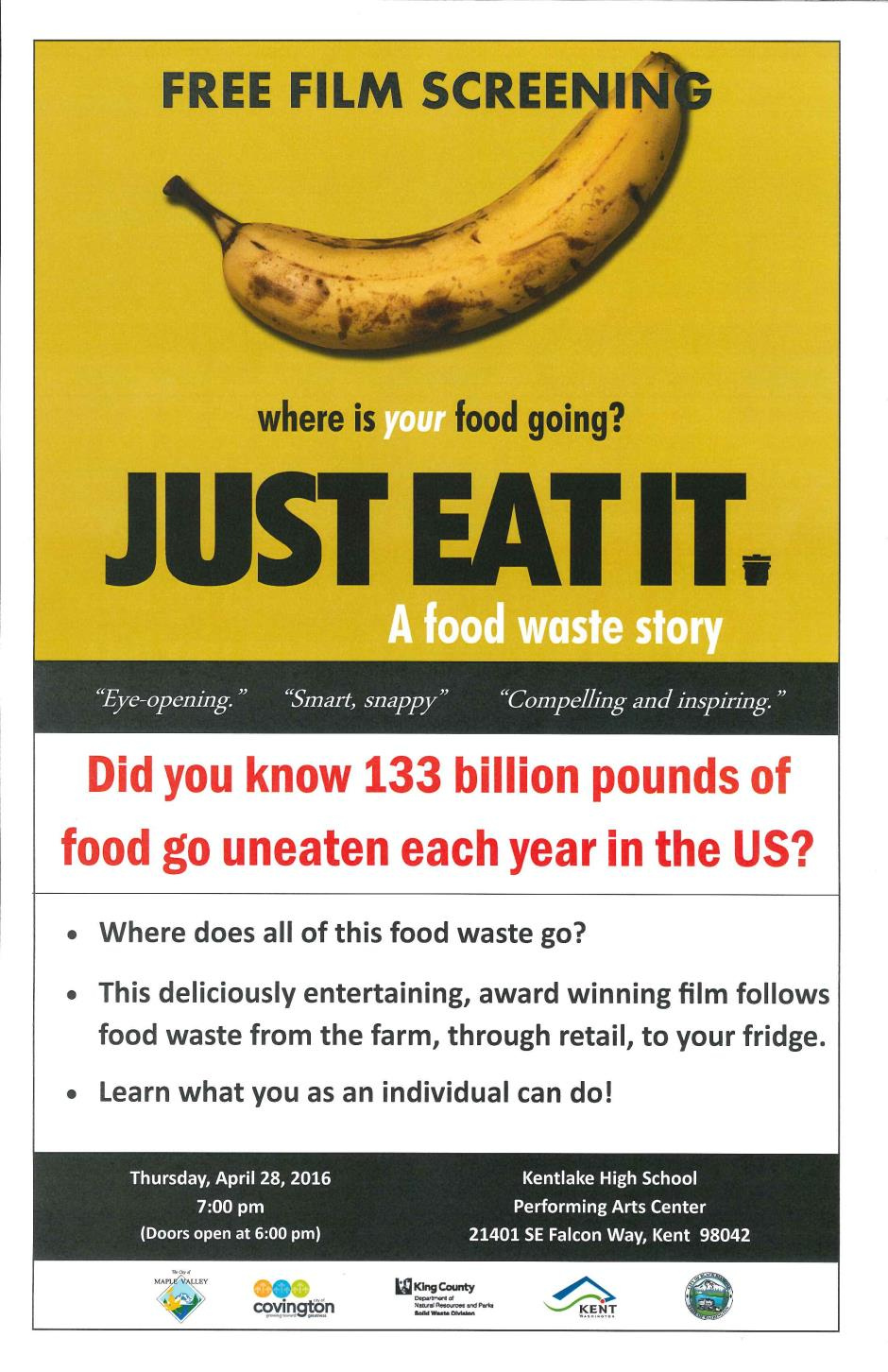 Just Eat It Poster 11x17 rev 041316
