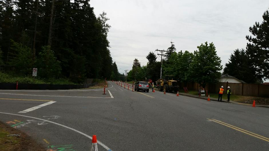 T-38 - 216th Ave SE - Traffic Control - 052716