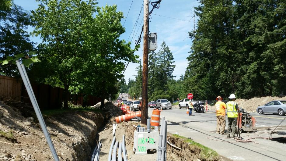 T-38 - 216th Ave SE - Joint Utility Trench Traffic (1) - 053116