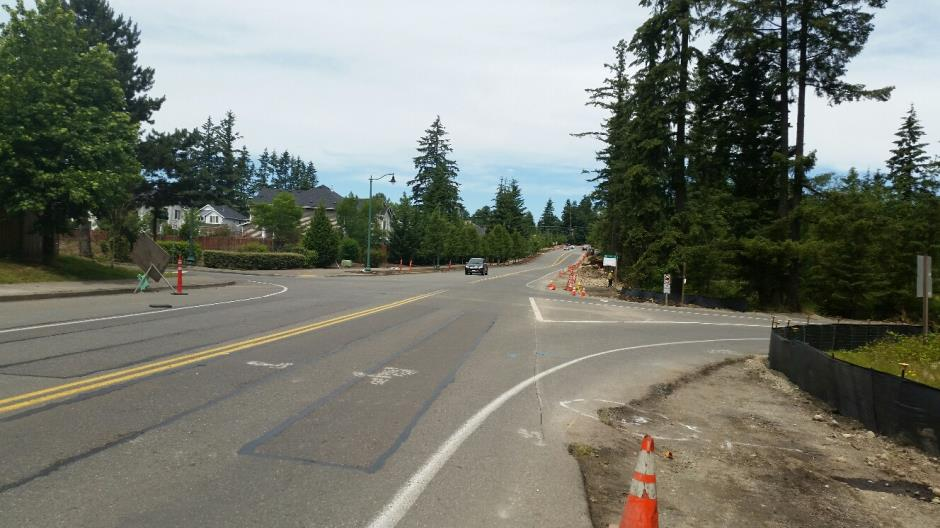 T-38 - 216th Ave SE - Looking North - 061716