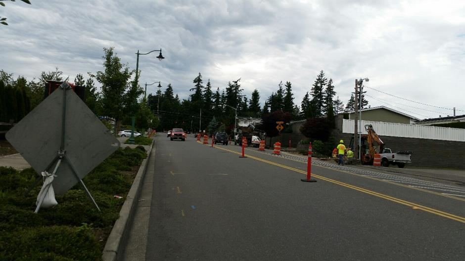 T-38 - 216th Ave SE - Trenching - 062016