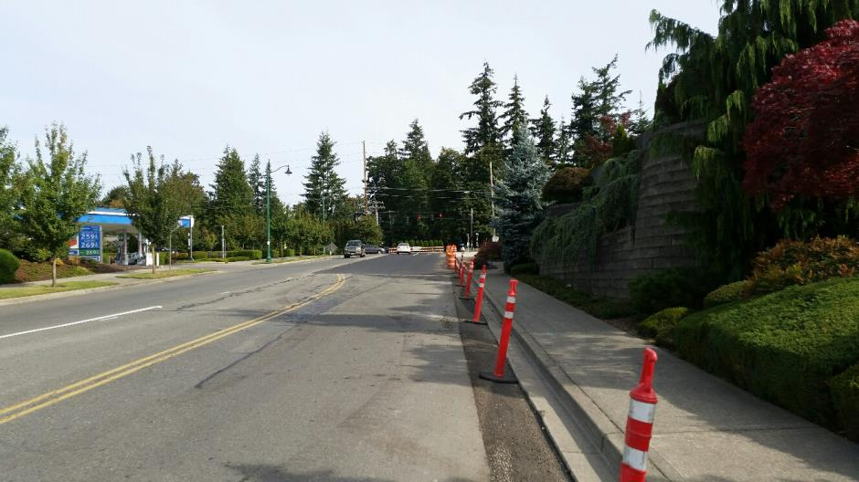 T-38 - 216th Ave SE - New Paving Near North End - 082616