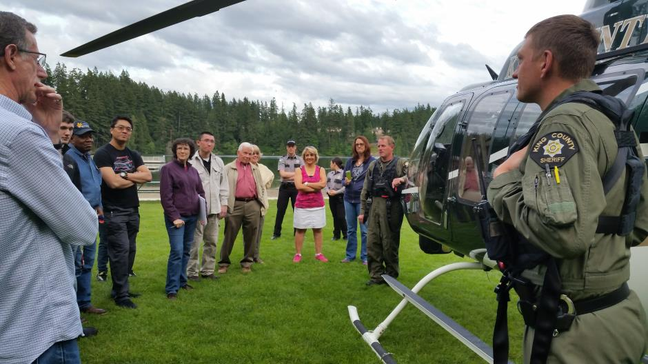 2016 Citizen's Academy Hellicopter
