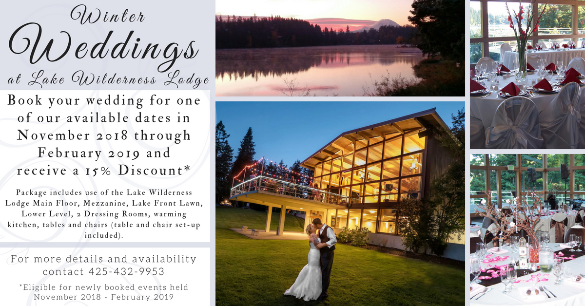 Wedding Receptions And Special Events