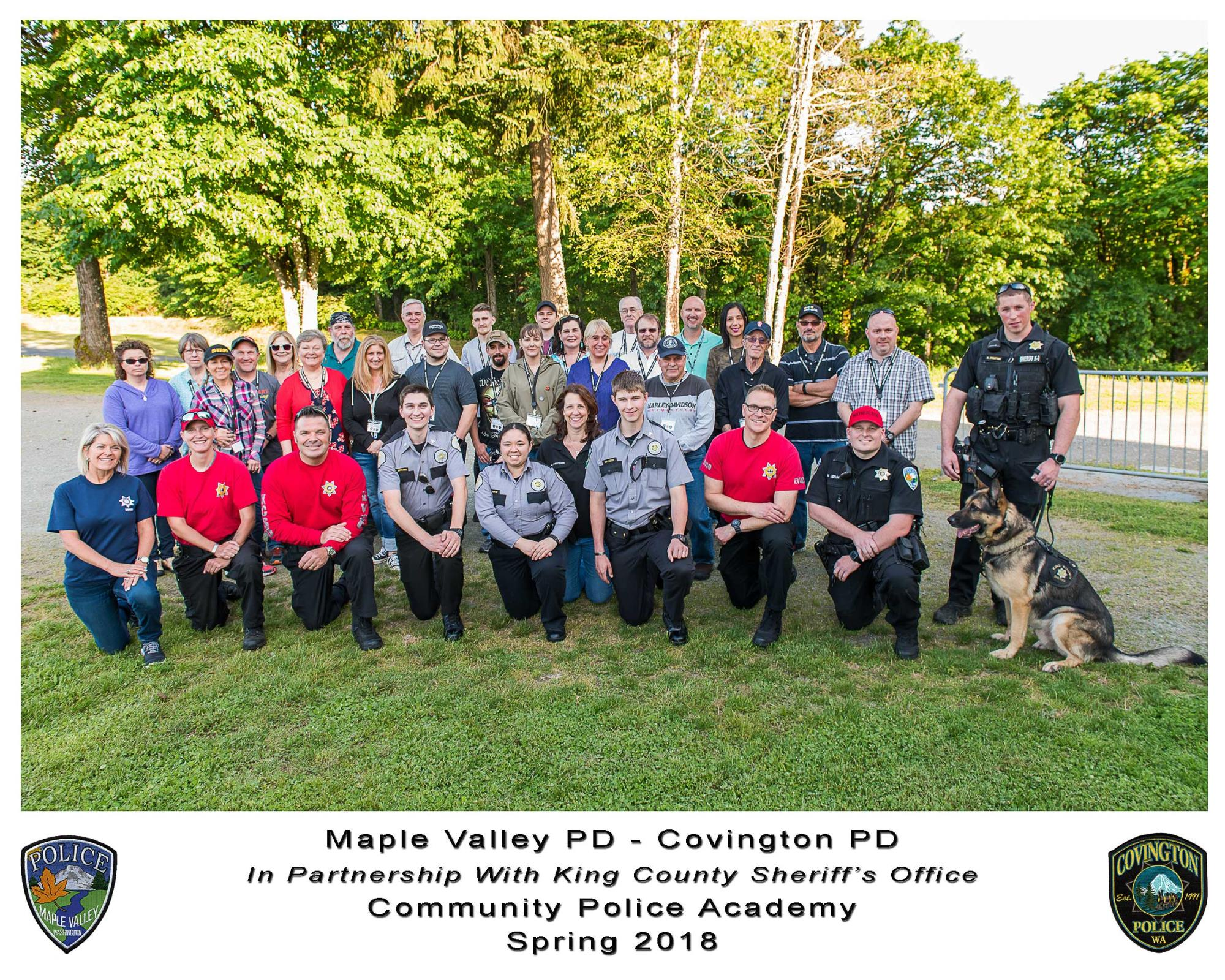 2018-Maple-Valley-Covington-PD-Community-Police-Academy