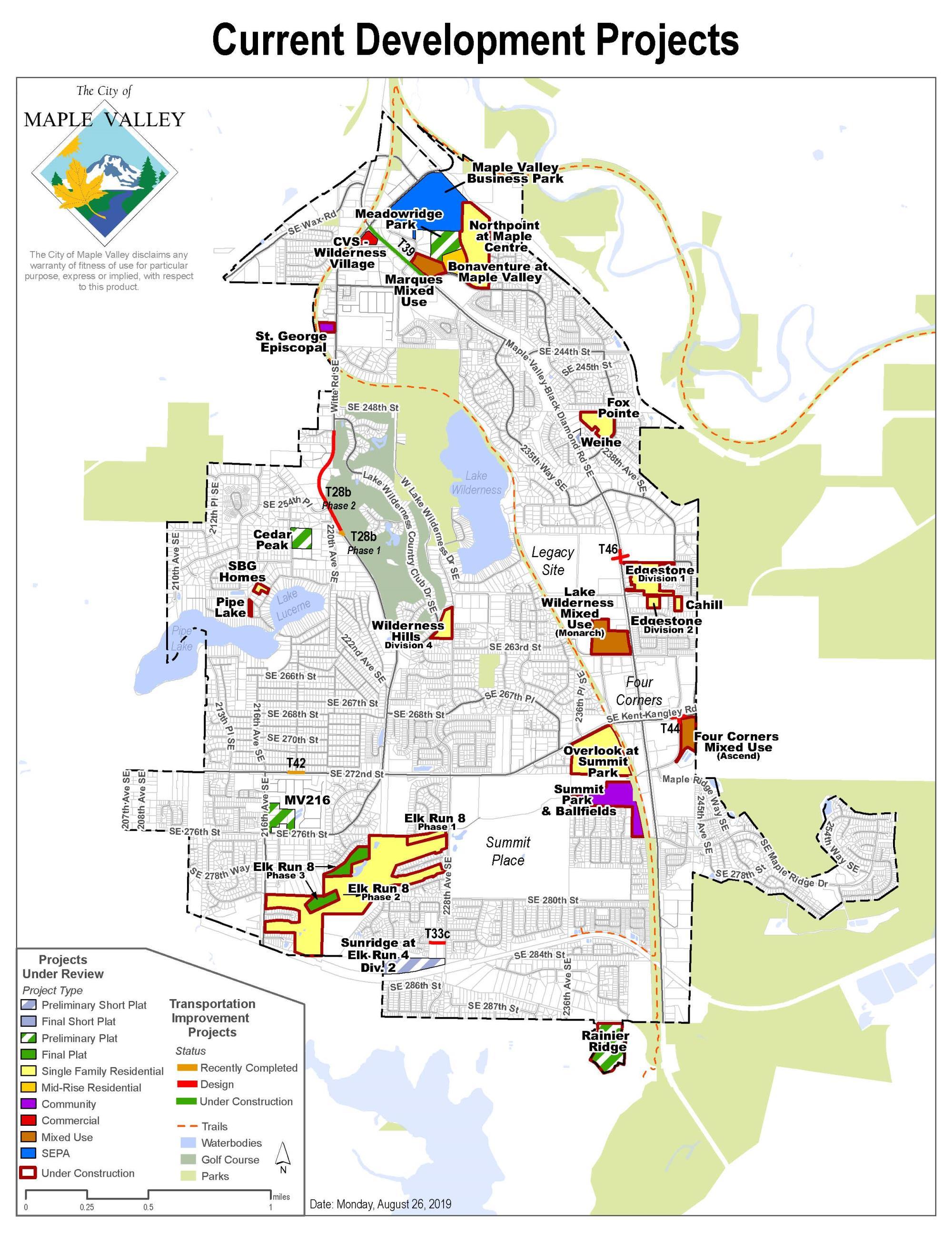 Community Development | Maple Valley WA