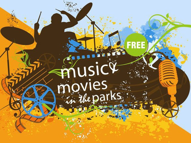 FREE Music & Movies in the Park