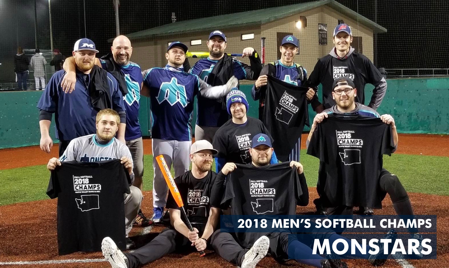 2018 Men's Softball Champs